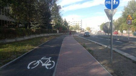 Droga rowerowa w Kielcach